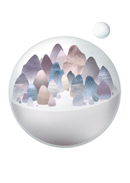Landscape ball