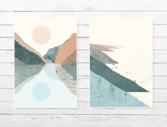 dwa krajobrazy
